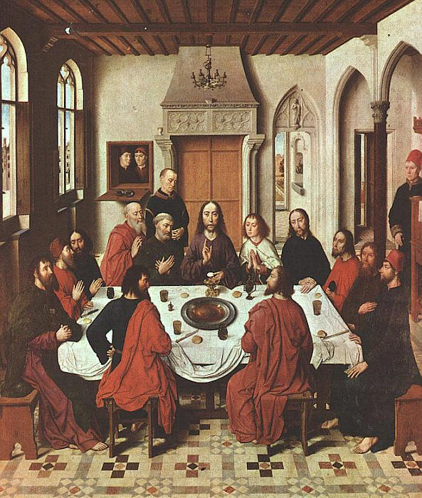 Dieric Bouts The Last Supper oil painting image